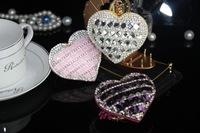 Fashion Bling jeweled rhinestone keychains