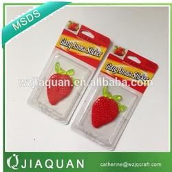 gel air freshener,Glazy aroma sticker, jelly aroma sticker