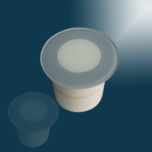 Round exterior led wall lights