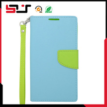 PU leather wallet case for samsung galaxy note 4