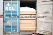 glycerine bulk shipping flexitank in container