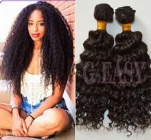 6A grade 100% virgin peruvian kinky curly hair style exports