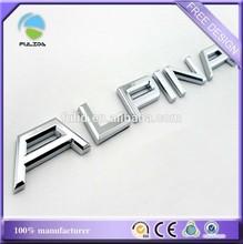 Factory Direct Sale Custom Made Chrome Plated Car Emblem