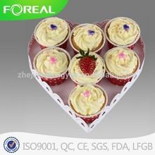 single tier heart shape wedding cake stand