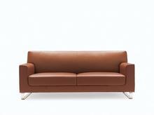china supplier modern elegent genuine leather sofa