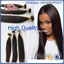 Raw unprocessed european human hair bundles,wholesale human hair 100g bundles