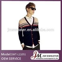stripe christmas sweater for men