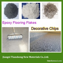 custom design color Trendy personalized look Deco Epoxy Chips Floor Systems