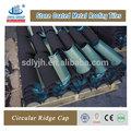Novos produtos no mercado da china revestida de pedra telhas de metal