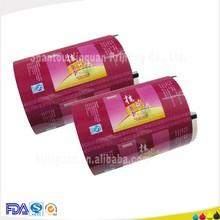 Top printed disposable plastic food packaging for ginger tea packaging