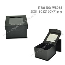 WB055 with PVC window, colorful, paper WATCH BOX