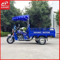 250cc Three Wheel Taxi / Three Wheel Motorcycle With Steering Wheel / Three Wheel Bike Passenger Cargo For Sale
