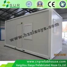 pu sandwich panel prefab houses / sewage container