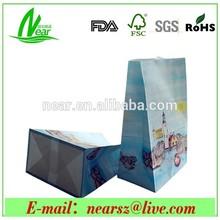 bread packaging paper bags ,sugar packaging paper bag , brown paper bag