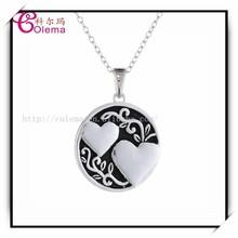 New Design Double Heart Pendant Charm Friendship PYH0313