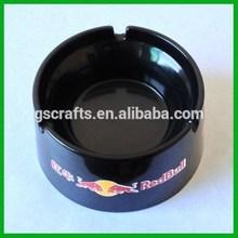 hot sale round plastic melamine ashtray for promotion