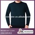 2014 hombres clásicos de algodón negro desgaste de punto caliente con cuello en V suéter / jersey / tacto suave / sólida / hecho en China