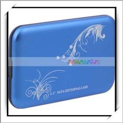 New Product 2.5 Inch Hard Disk Drive SATA USB 2.0 External HDD Enclosure