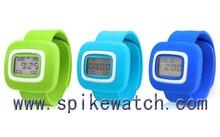 Children Slap Snap On Silicone Sports Quartz Wrist Watches Girls Boys
