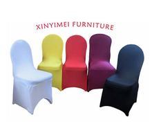 Wedding stretch folding chair cover