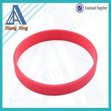 Unique Style Top Quality Logo Printed Thin Silicone Wristband