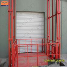 goods elevator lift/four post lift/hydraulic wall mounted lift platform