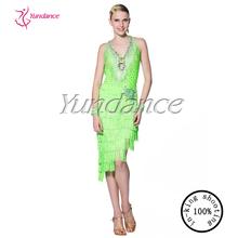 2015 Phantasie grünen marokkanischen kleider zum verkauf l-14116