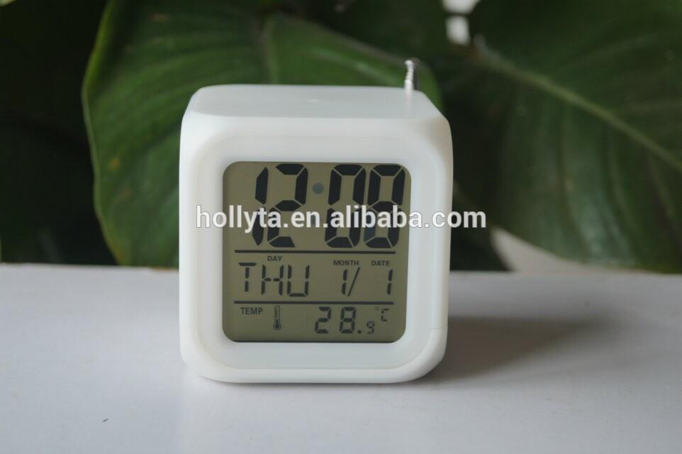 radio fm alarm clock radio controlled sweep alarm clock. Black Bedroom Furniture Sets. Home Design Ideas