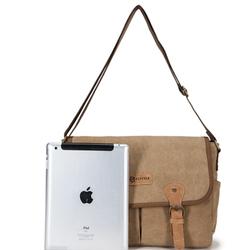 2015 Special design 16oz fashion canvas waist bag for ipad