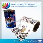 builder plastic roll/mirror film roll/barrier film for food packaging