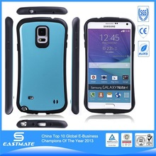 dual layer diy silicon mobile phone case for samsung galaxy note4
