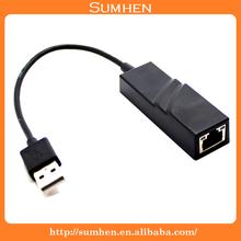 USB 3.0 to 10/100/1000M G Ethernet RJ45 Network Lan External Card Adapter