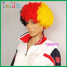 Carnival Colorful Afro Wigs for Football Fan