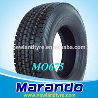 MANUFACTURES MARANDO MALAYSIA POPULAR TRUCK TIRES 295/80R22.5 TBR TIRE