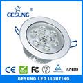 Ventilador de techo de luz globos terráqueos, plaza de led de luz de techo, luz de techo