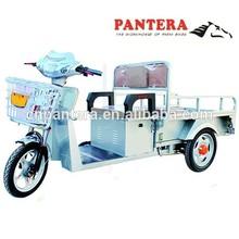 PT-EC Best Frame 48V 12Ah Battery Powered 30Km/h Cargo electric bike 3 Wheel For Adults