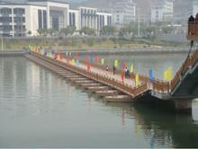 floating steel structure bridge