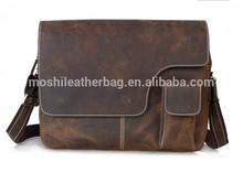 Vintage High Quality Leather Crossbody Messenger Bag
