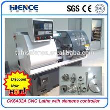 Hot sell! Newest Hobby mini lathe CK6432A small type cnc lathe machine