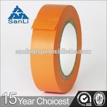 Hot Sale China Supplier Insulating Orange PVC Tape