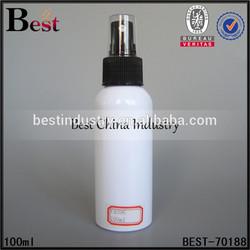 nice shape wihte plastic spray bottle 100ml, latest style plastic spray bottle 100ml