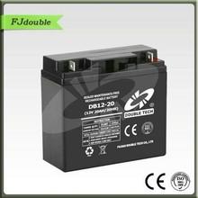 VRLA gel battery 12v 40ah in parallel 12v 20ah rechargeable battery