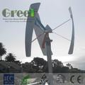 Nuovo! 300w turbina ad asse verticale! Mini asse verticale generatore di vento 12v!