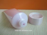 dual purpose cosmetic tube ;lotion bottle/dual chamber tube