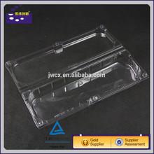 Custom waterproof eco-friendly rectangular plastic food tray