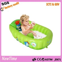 New Born Baby's Inflatable Bath Tub Swimming Pool Water Play Toys
