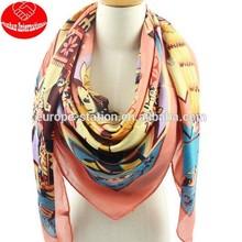 130*130CM Mystery trace myth big kerchief/ ferris wheel scarf /hijab/beach scarf/shawl