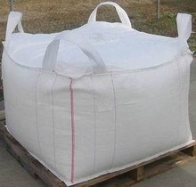 Tubular body cross corner loops FIBC bulk bag