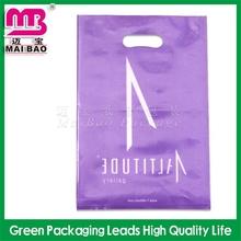 luxury style production die cut bag/patch handle bag/puch handle bag