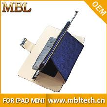 For iPad Mini Stand Case! Diamond Pattern Magnetic Flip Leather Stand Case for iPad Mini
